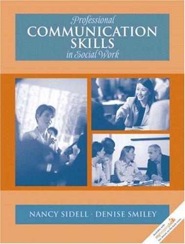 9780205524211: Professional Communication Skills in Social Work
