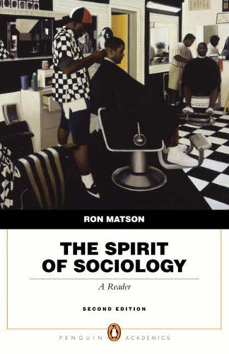 9780205524648: Spirit of Sociology, The (2nd Edition)
