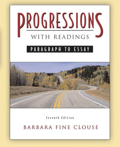 9780205526864: Progressions, with Readings (with MyWritingLab) (7th Edition)