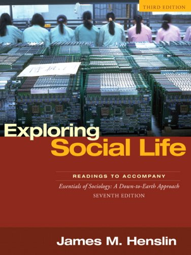 9780205530533: Exploring Social Life: Readings to Accompany Essentials of Sociology