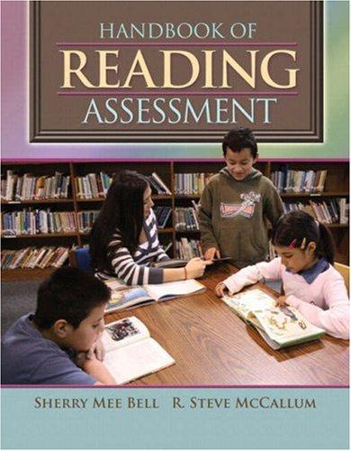 9780205531776: Handbook of Reading Assessment