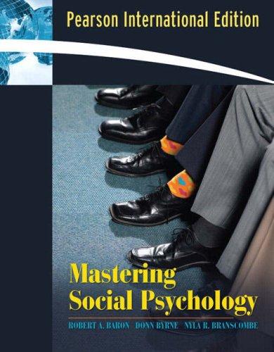 9780205532698: Mastering Social Psychology