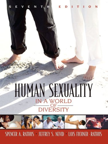 9780205532919: Human Sexuality in a World of Diversity (7th Edition)
