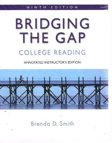 9780205533152: Bridging the Gap: College Reading