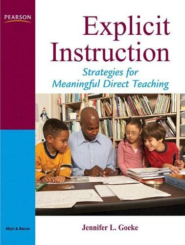 9780205533282: Explicit Instruction: Strategies for Meaningful Direct Teaching