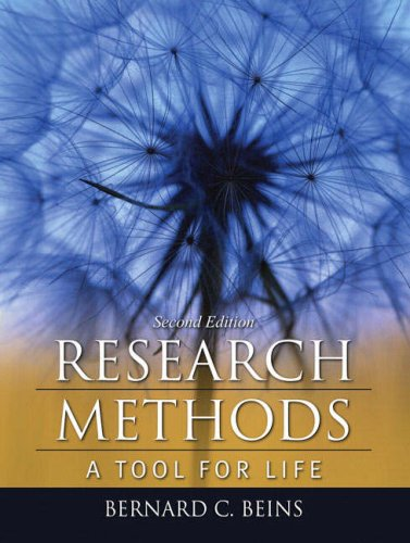9780205535064: Research Methods: A Tool for Life (2nd Edition)