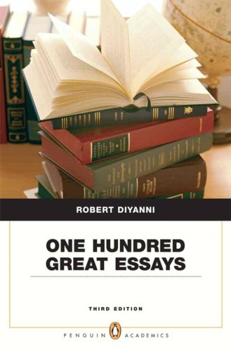 9780205535552: One Hundred Great Essays (Penguin Academics Series) (3rd Edition)
