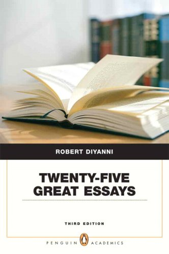 9780205535569: Twenty-five Great Essays