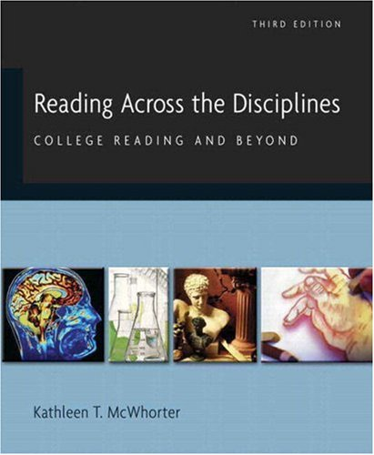 9780205537778: Reading Across the Disciplines: College Reading and Beyond (with MyReadingLab) (3rd Edition)