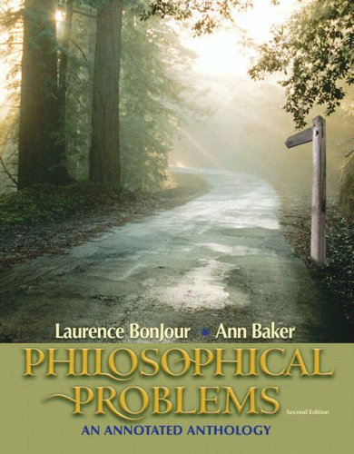 9780205539376: Philosophical Problems: An Annotated Anthology (2nd Edition)