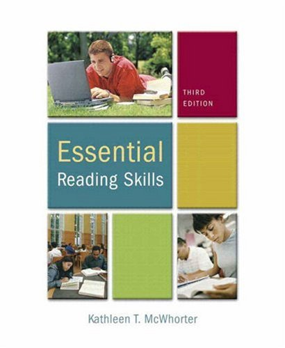 9780205540044: Essential Reading Skills (with MyReadingLab) (3rd Edition)