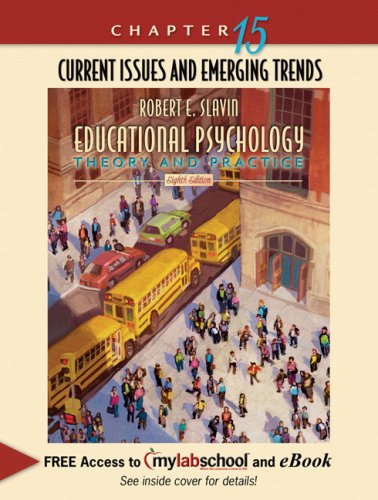 9780205540167 chapter 15 current issues and emerging trends 9780205540167 chapter 15 current issues and emerging trends chapter alone for educational psychology fandeluxe Images