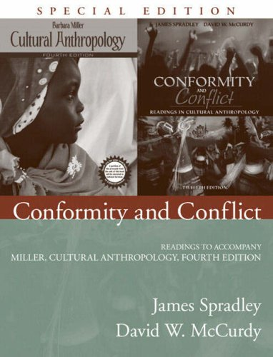 9780205541294: Conformity and Conflict: Readings to Accompany Miller, Cultural Anthropology