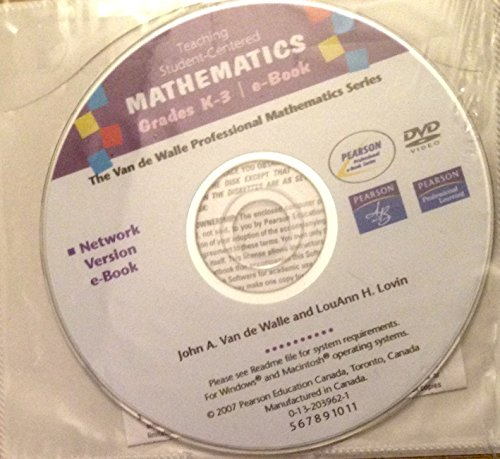 K-3 School Network Dvd (0205541461) by John A. Van De Walle; Lou Ann H. Lovin