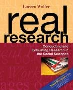 9780205542109: REAL RESEARCH: CONDCTG&EVAL&RSRCH NAV GD PK: Conducting and Evaluating Research in the Social Sciences: Nav Gd Pack