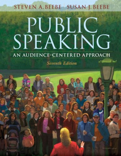 9780205543014: Public Speaking: An Audience-Centered Approach (7th Edition)