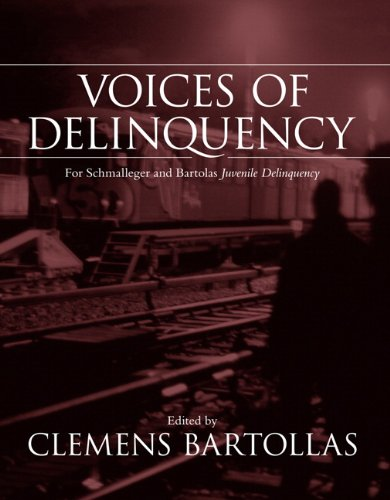 9780205544462: Voices of Delinquency