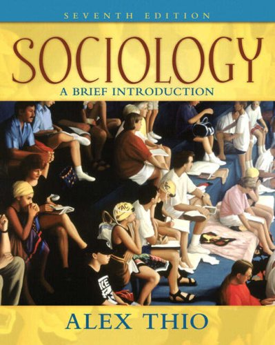 9780205547098: Sociology: A Brief Introduction (7th Edition)