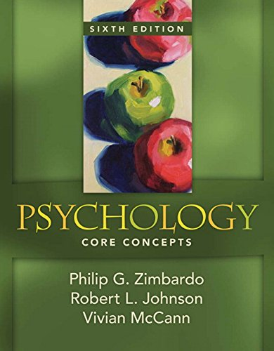 9780205547883: Psychology: Core Concepts: United States Edition