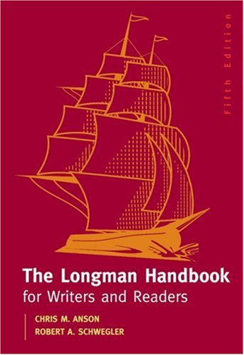 9780205549832: Longman Handbook for Writers and Readers, The (5th Edition)
