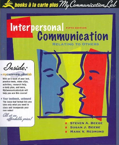 9780205550067: Interpersonal Communication: Relating to Others (Books a la Carte)