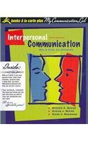 9780205550067: Interpersonal Communication: Relating to Others, Books a la Carte Plus MyCommunicationLab CourseCompass (5th Edition)