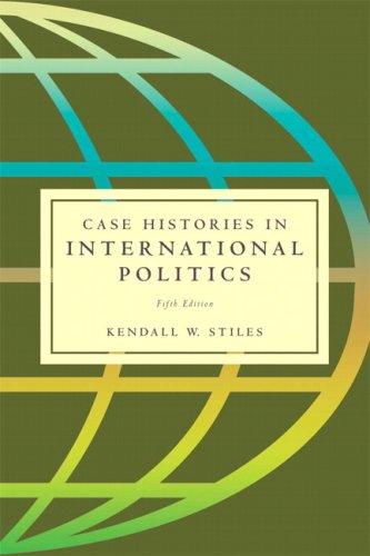9780205550562: Case Histories in International Politics (5th Edition)