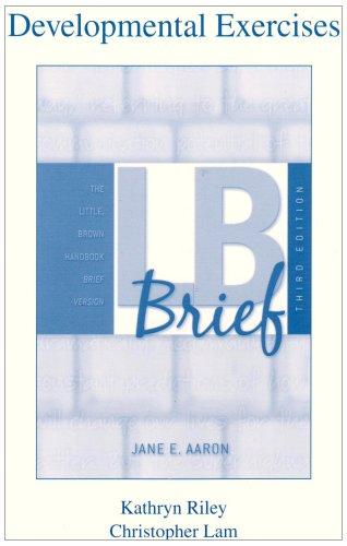 LB Brief: The Little, Brown Handbook, Brief: Jane E. Aaron