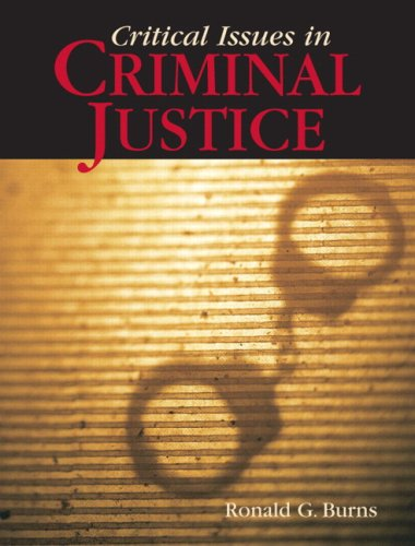 9780205553747: Critical Issues in Criminal Justice