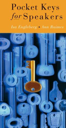 9780205555000: Pocket Keys for Speakers