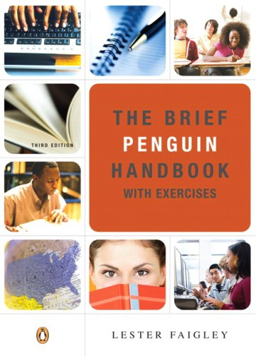 9780205556380: Brief Penguin Handbook with Exercises, The (3rd Edition)