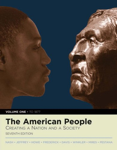 9780205556748: The American People: Creating a Nation and a Society, Volume I (to 1877) (with Study Card) (7th Edition)