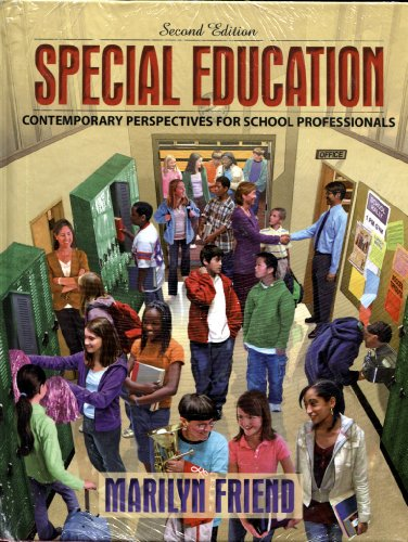 9780205560950: Special Education: Contemporary Perspectives for School Professionals