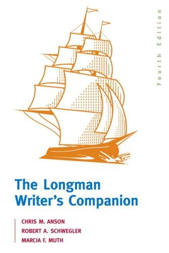 9780205562527: Longman Writer's Companion, The (4th Edition)