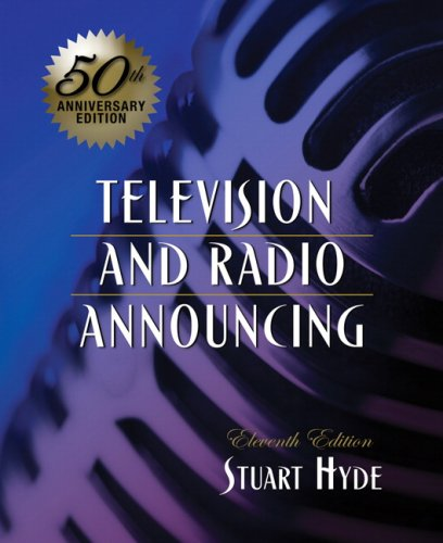 9780205563043: Television and Radio Announcing (11th Edition)