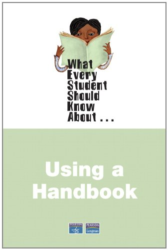 9780205563845: What Every Student Should Know About Using a Handbook