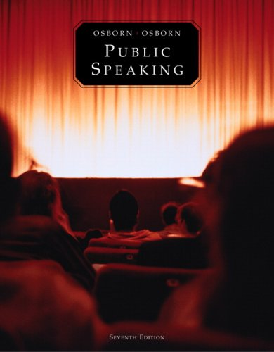 9780205564095: Public Speaking (Book alone)