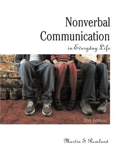 9780205564439: Nonverbal Communication in Everyday Life (2nd Edition)