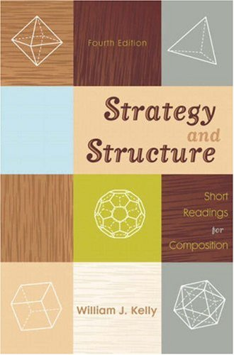 9780205565580: Strategy and Structure: Short Readings for Composition