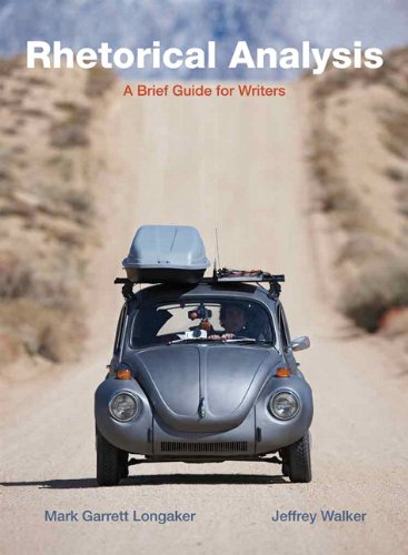 9780205565702: Rhetorical Analysis: A Brief Guide for Writers