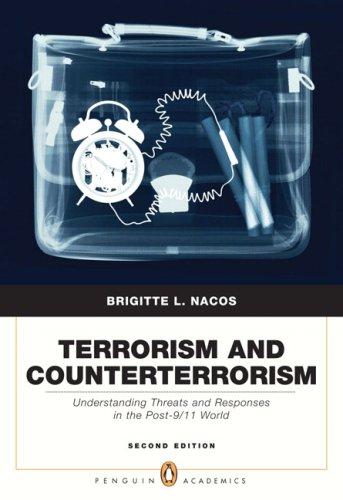 9780205568284: Terrorism and Counterterrorism (2nd Edition)