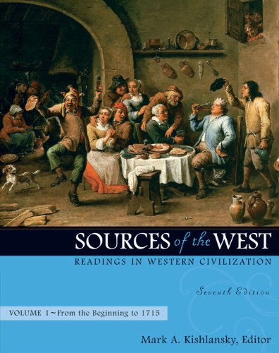 9780205568390: Sources of the West: Readings in Western Civilization, Volume 1 (From the Beginning to 1715) (7th Edition)