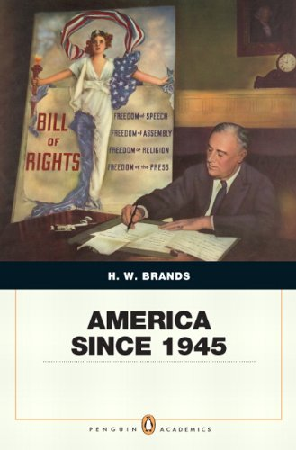 9780205568482: America Since 1945: Penquin Academic Edition (Penguin Academics)