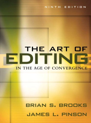 9780205569649: The Art of Editing in the Age of Convergence