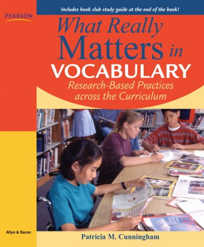 9780205570416: What Really Matters in Vocabulary: Research-based Practices across the Curriculum