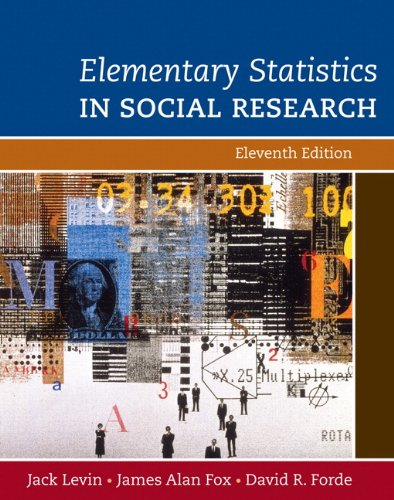 9780205570690: Elementary Statistics in Social Research (11th Edition)