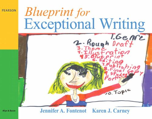 9780205571741: Blueprint for Exceptional Writing