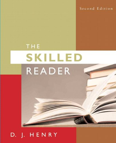 9780205573189: Skilled Reader, The (2nd Edition)