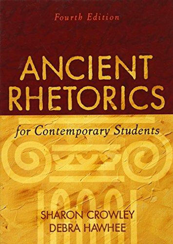 9780205574438: Ancient Rhetorics for Contemporary Students