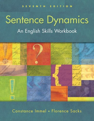 9780205574599: Sentence Dynamics (with MyWritingLab) (7th Edition)